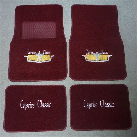 floor custom floor mat simple on made caprice mats chevy