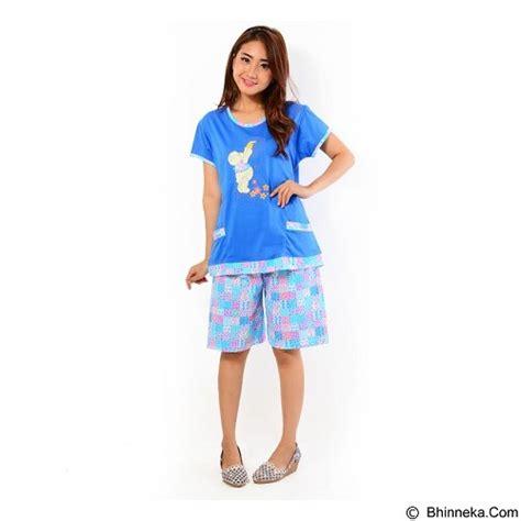 Setelan Baju Tidur Murahbaju Tidur Pendekset Biru Tosca jual forever baju setelan wanita fit celana pendek p 662 blue merchant murah