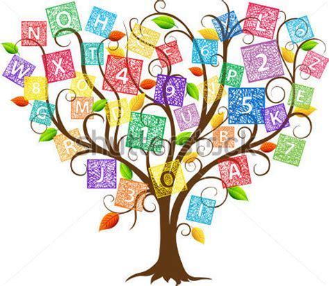 libro the art of instruction ilustraci 243 n del 193 rbol de educaci 243 n con letras y n 250 meros vectores en stock vectorhq com