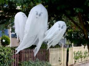 how to make hanging halloween ghosts how tos diy