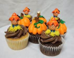 fall cupcake decorating ideas on the side after five easy pumpkin cupcake recipe