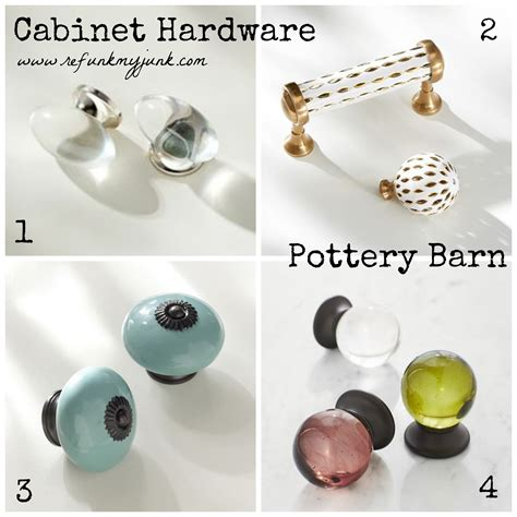 Pottery Barn Knobs by Hardware Resources Refunk Junk