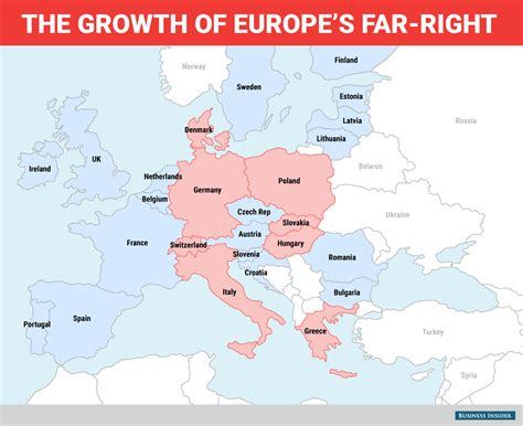 map shows far right growth across europe business insider