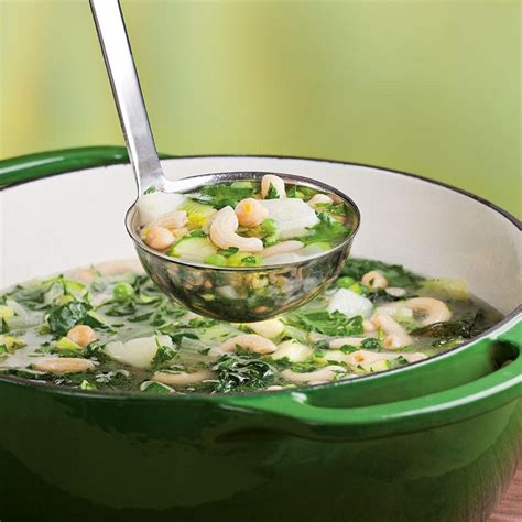 green leafy vegetables soup recipes green vegetable minestrone recipe eatingwell