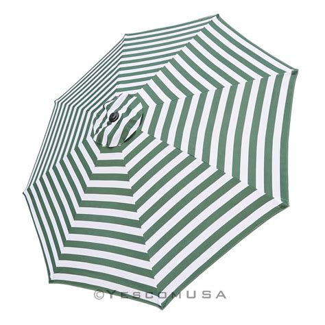 10ft Umbrella Replacement Canopy 8 Rib Outdoor Patio Patio Umbrella Canopy Replacement