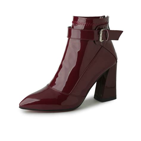 burgundy boots popular burgundy patent boots buy cheap burgundy patent