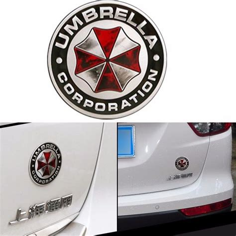 volkswagen umbrella companies 7 5cm new umbrella corporation 3d resident evil