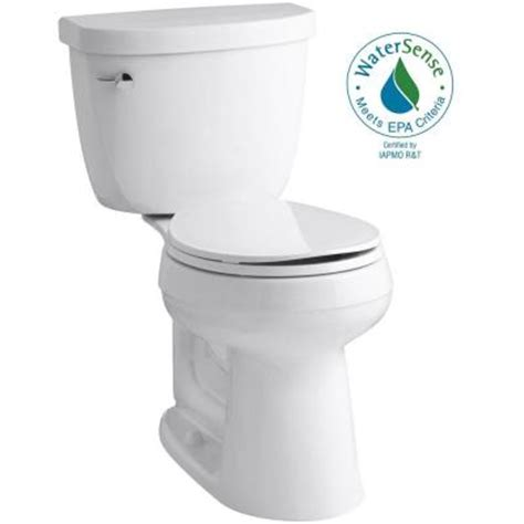 Comfort Toilets Home Depot by Kohler Cimarron Comfort Height 2 1 28 Gpf