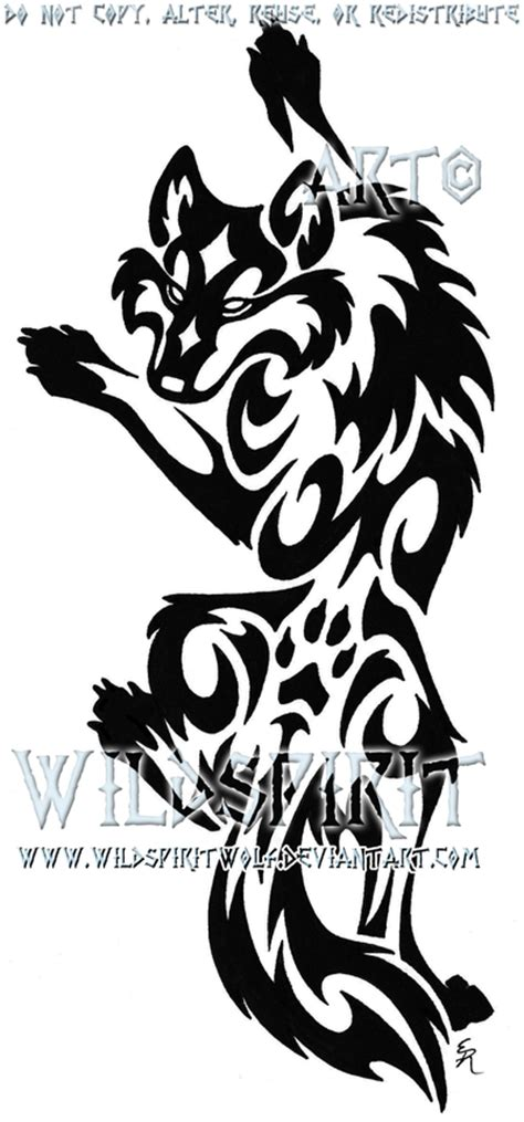 werewolf tribal tattoo the gallery for gt tribal designs