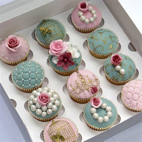 Bridal Cupcakes by Wedding Cupcake Inspiration Edmonton Wedding