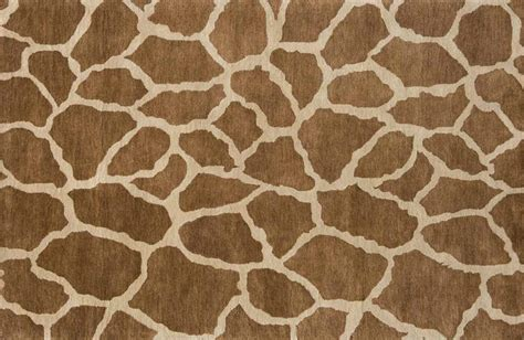 Giraffe Print Area Rug Tiger Print Carpet Feel The Home