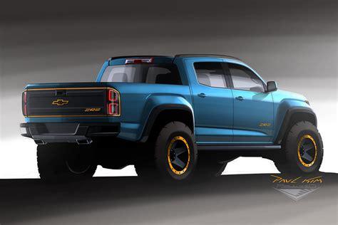 Colorado Zr2 Concept by Chevrolet Colorado Zr2 Concept Design 002 By Seawolfpaul