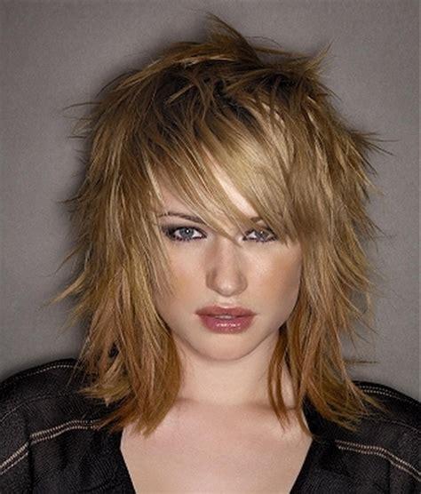 hair cuts uneven lengths shoulder length choppy layered haircuts