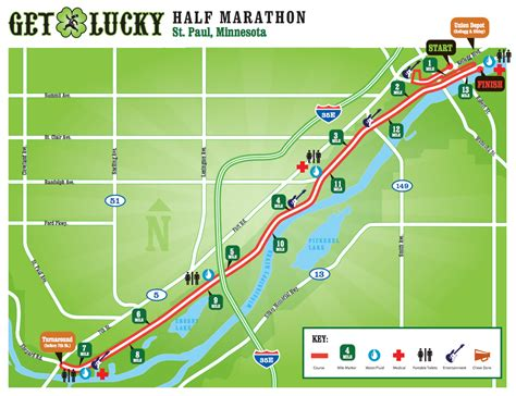 Get Your Mba In St Paul by Get Lucky St Paul 21k Run
