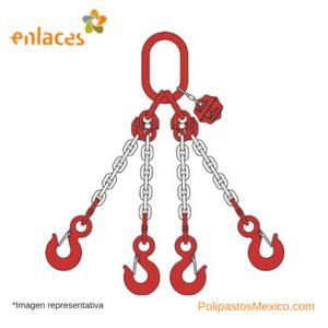 cadenas eslingas eslinga de cadena 4 ramales polipastos m 233 xico