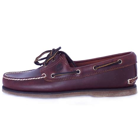 mens boat boots timberland 25077 classic boat shoe mens brown leather