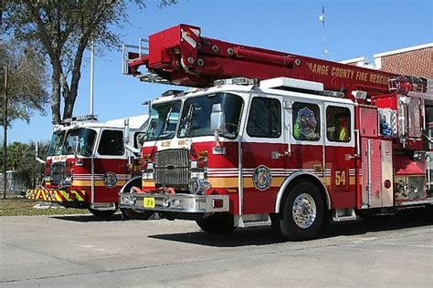 orange county rescue firefighting in florida