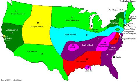 maryland dialect map what dialect do you speak a map of american the
