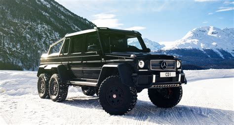 mercedes g63 amg 6x6 when much is not enough