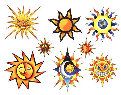 flash tattoo art sun flash tattoos tattoos