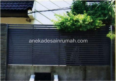 Pagar Besi Ram desain dan gambar pagar dan pintu besi minimalis modern