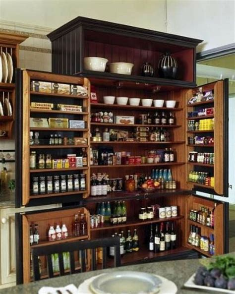 kitchen pantry cabinet storage ideas living conditions