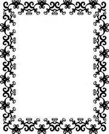 decorative borders for word clipart best