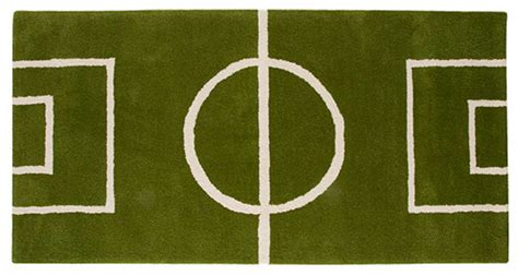Goal 9 Amazing Luxury Gifts For The Ultimate Soccer Fan Soccer Field Area Rug