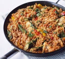 Jollof rice with chicken bbc good food