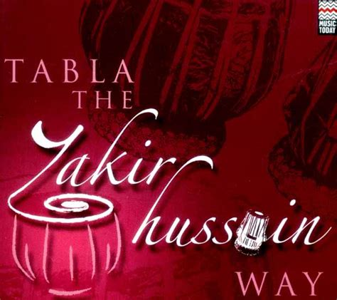 zakir hussain a in books tabla the zakir hussain way audio cd