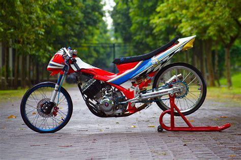 Lu Buat Satria Fu modifikasi satria f150 2009 kado ayah tersayang untuk anak tercinta