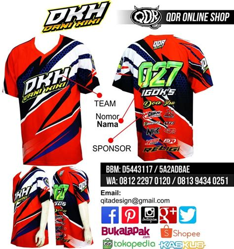 jersey drag race dkh bahan fit printing sublimasi