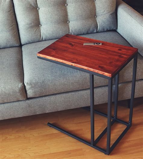 L Shaped End Table by L Shaped End Table Goenoeng