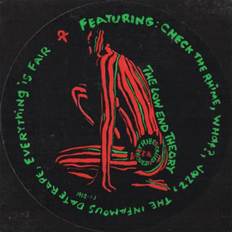 A Tribe Called Quest Low End Theory Hip Hop Rap S Black Size L a tribe called quest the low end theory promo lp breakwell records