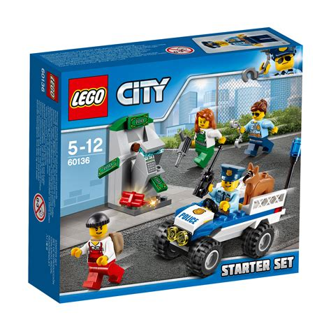 City Set 60136 lego city starter set 80 pieces age 5 12 new for 2017 ebay