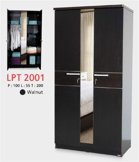 Lemari Pakaian 2 5 Pintu Cermin Lpt 2001 lunar lpt 2001 lemari pakaian 2 5 pt satu kantor