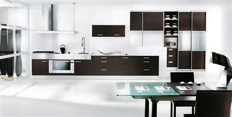 black white and kitchen ideas cuisine 233 quip 233 e 2010 photo 12 25 une cuisine toute en