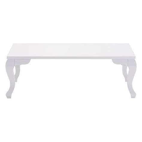White Rectangular Coffee Table Verdun Rectangular Coffee Table White