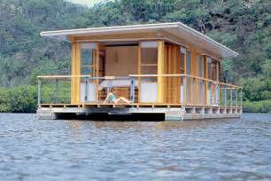 The arkiboat a simple two bedroom houseboat built for two couples