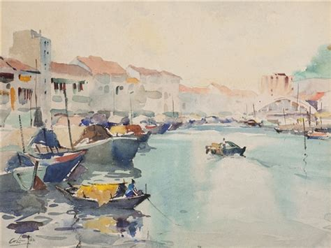 boat auctions singapore lim cheng hoe art auction results