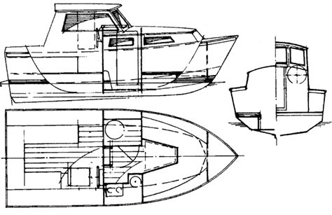 Steel Hull Shrimp Boat Plans Sketch Coloring Page Colour Pages Hull