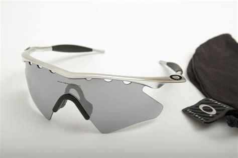 Oakley Silver Vented Frame Black Chrome Iridium Lens fs oakley and fox glasses 171 singletrack forum