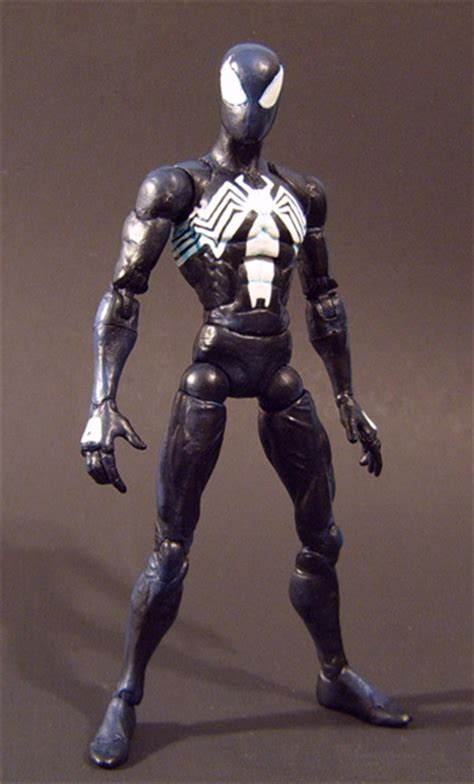 Custom Spiderman1 black costume 1 by jin saotome on deviantart