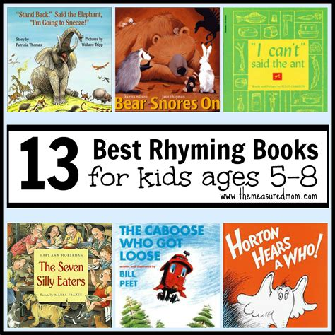 children of our age books best rhyming books for ages 5 8 the measured