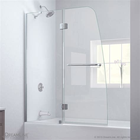 Aqua Glass Shower Door Bath Authority Dreamline Aqua Clear Glass Tub Door Free Shipping Modern Bathroom