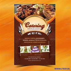 catering menu template flyer menu design