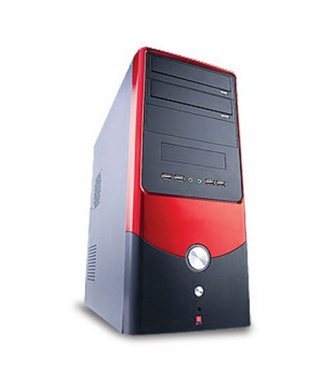 Iball Cpu Cabinet Price by Iball Computer Desktop Cabinet With Smps Power Supply