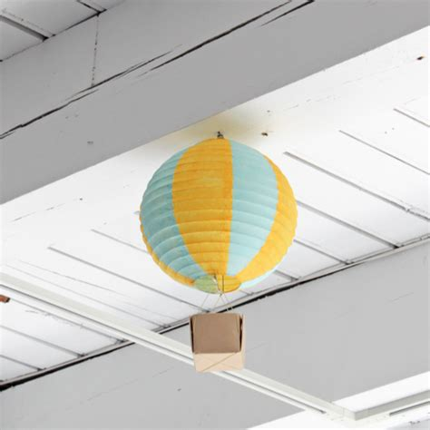 Handmade Air Balloon Decorations - how to air balloon decorations
