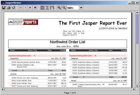 free jasper report templates jasperreports library sourceforge net