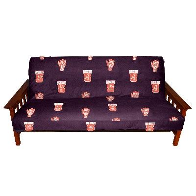 college futon covers north carolina state futon cover 1